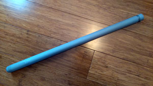 Thin Walled Kubota Protection Tube 600mm